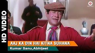 Aaj Ka Din Full Video   Return of Jewel Thief (1996)   Devanand, Dharmedra & Jackie Shroff