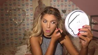 GRWM   my typical 'going out' makeup   Sophia Mitchell