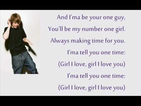 One Time - Justin Bieber Lyrics