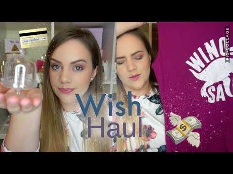 WISH APP HAUL - FREE ITEMS?! Great deals or disappointments?!