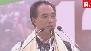 Pu Lalduhawma's Address At Mamata Banerjee's Mega Rally In Kolkata | #Mamata2019Rally