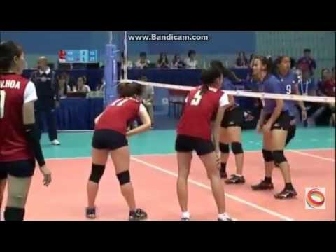 Volleyball Women's Indonesia vs Vietnam SEA Games Singapore 2015 Part 1