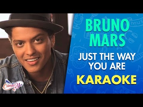 Download Bruno Mars - Just The Way You Are (Karaoke) | CantoYo On VIMUVI.ME