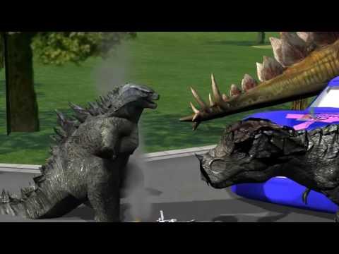 Dino VS Godzilla Hospital