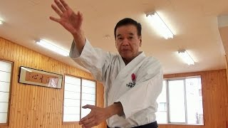 The secret of Karate Master Ueki Shihan, 75 years old. 植木政明師範(75歳)達人の秘密