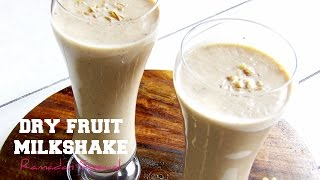 Dry fruit milkshake | Healthy Ramadan Recipes | Hungry for Goodies