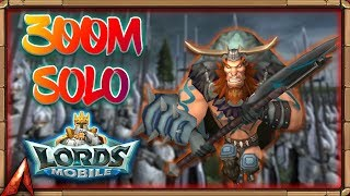 Lords Mobile: Rally 300M+ Might? NAH SOLO AND ZERO IT!