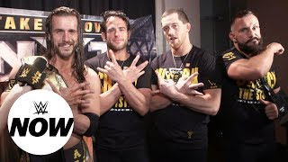 NXT Superstars prepare to make history on USA Network: WWE Now
