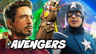 Avengers Infinity War Promo and Infinity Stones Time Travel Theory