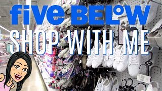 FIVE BELOW SHOP WITH ME | NEW $1 to $5 BACKPACKS, MAKEUP, SHOES & MORE!!!