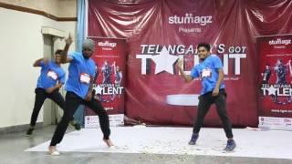 Rakesh Varma Dance    Telangana got talent    TGOTE097
