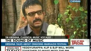 T.M. Krishna : A lot of dirt in the world of Carnatic music