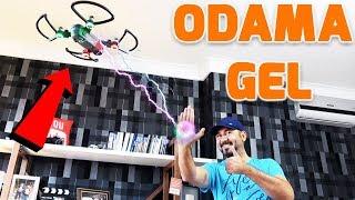 ODAMDA DRONE UÇURDUM! | EKİPMANLARIM VE ODA VLOG