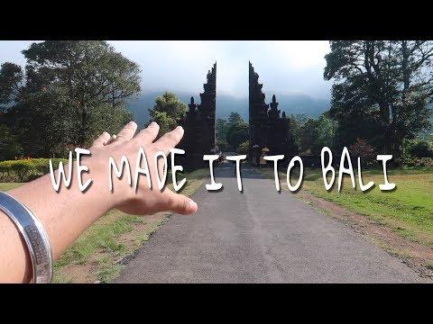 WE MADE IT TO BALI BALI VLOG EP 1 FT NOFILTR