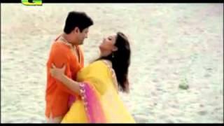 Bangla romantic song.. Valo Lage Rat - YouTube.flv