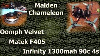 Maiden Chameleon / BF 3.2.1 / Oomph velvet / Matek F405 aio