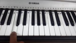 Learn VIP title song in keyboard