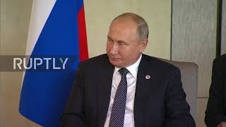 Singapore: Putin and Abe sit down for talks at ASEAN summit