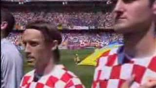 Croatia vs. Japan National anthem of Croatia