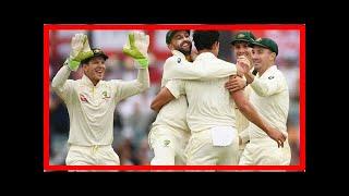 NEWS 24H - England on brink of defeat series of waca