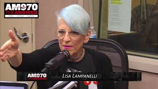 Lisa Lampanelli - Interview - Piscopo In The Morning 10-31-17 AM 970 The Answer