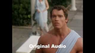 Hercules in New York - Dubbed Version vs. Original Arnold!