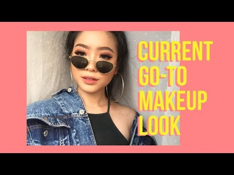 UPDATED CURRENT GO-TO MAKEUP LOOK + CHIT CHAT | Marcella Febrianne