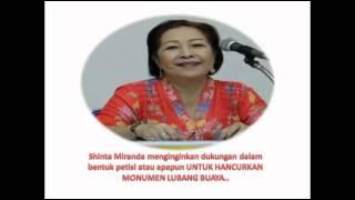 video Shinta Miranda, anak Gerwani PKI Yang akan hancurkan Monumen Pancasila Sakti, Lubang Buaya