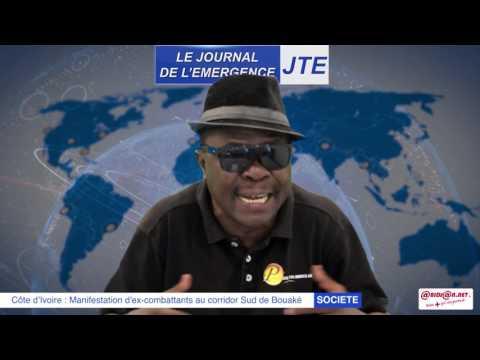 JTE / Manifestation d'ex combattants à Bouaké, Gbi de Fer