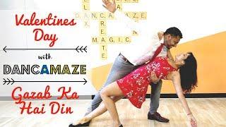 Gazab Ka Hai Din | Dancamaze | Dil Juunglee | Dance Cover | Valentines Day Special