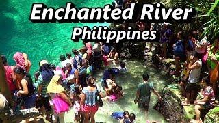 Philippines - Enchanted River, Hinatuan, Surigao Del Sur, Mindanao