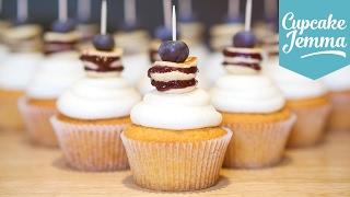 How to Make Blueberry Pancake Cupcakes | Cupcake Jemma