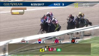 Gulfstream Park Race 3 | June 25, 2017