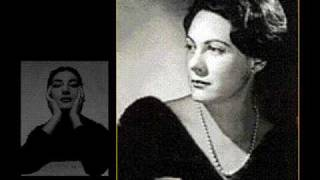 Callas and Tebaldi sing Habanera from Carmen
