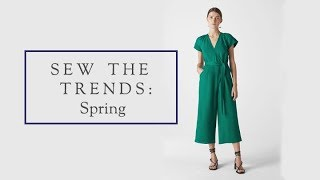 Sew The Trends Spring 2019 || Fashion sewing || The Fold Line