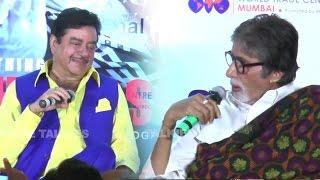 Amitabh Bachchan Makes FUN Of Shatrughan Sinha In Public