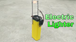 How to make Electric Lighter at home 🕯️