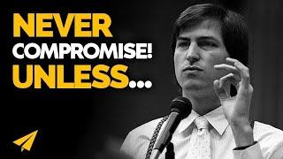 """Don't SETTLE for SECOND BEST!"" | Steve Jobs | #Entspresso"