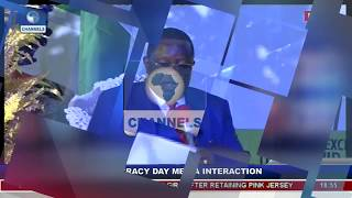 Ebonyi State Governor Holds Democracy Day Executive Media Chat Pt.6