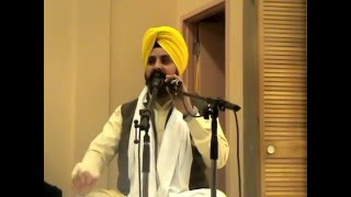Gurudwara Greater Montreal-Prof. Sarabjit Singh Dhunda G,6th Feb 2016.Part 1(Evening)