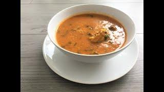 طريقتي في تحضير شوربة فريك ( الشعير) | Tunisian Soup Rcipe