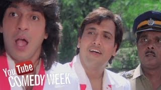 Kadar Khan, Sadashiv Amrapurkar, Best Comedy Scenes - Aankhen - Jukebox 20, Comedy Week