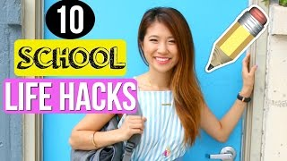 Life Hacks for High School & College + Study Tips!