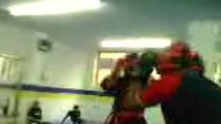 cristopher v.s diego en kict boxing