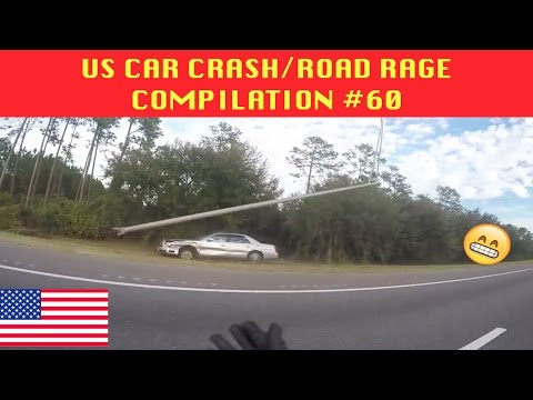 watch 🇺🇸 [US ONLY] US CAR CRASH/ROAD RAGE COMPILATION #60