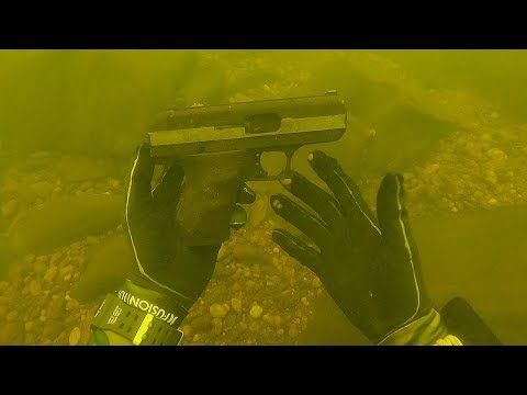 Found a Cheap Hi Point Pistol Underwater While Scuba Diving Police Called