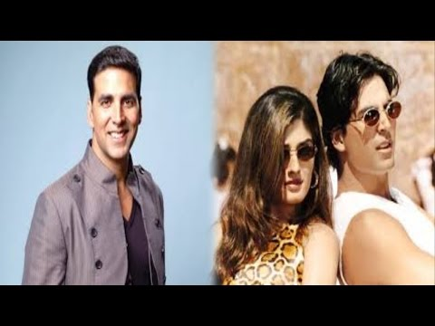 ये गलती न होती तो रवीना आज अक्षय की बीवी होती…!! | Akshay Kumar, Raveena Tandon Love Story