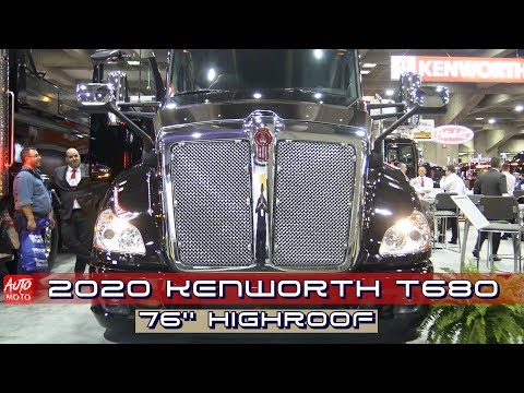 2020 Kenworth T680 76 HighRoof Exterior And Interior Expocam 2019
