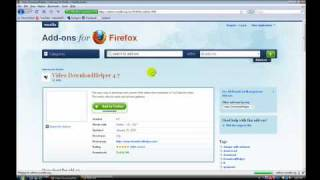 How to Download video clips on any website. (using mozilla firefox)