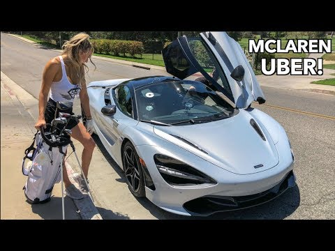 Picking Up UBER Riders In A Mclaren